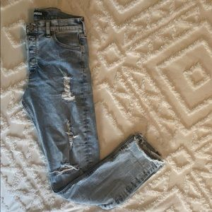 Express Jeans - Vintage skinny high rise jeans
